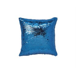 Ashley Aurelie Throw Pillow in Aqua