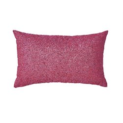 Ashley Arabelle Throw Pillow in Fuchsia