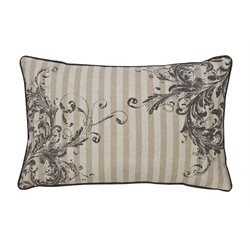 Ashley Avariella Throw Pillow in Natural and Gray (Set of 4)
