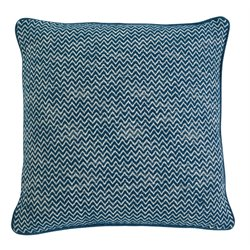 Ashley Chevron Throw Pillow in Teal