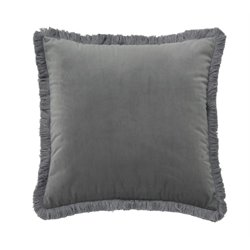 Ashley D'Artagnan Throw Pillow in Gray