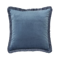 Ashley D'Artagnan Throw Pillow in Blue