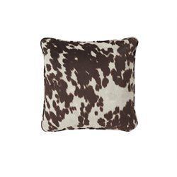 Ashley Dagan Throw Pillow in Brown and White