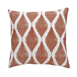 Ashley Bruce Throw Pillow in Orange