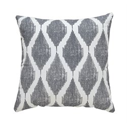 Ashley Bruce Throw Pillow in Gray