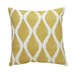 Ashley Bruce Throw Pillow in Yellow