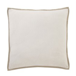 Ashley Dagger Throw Pillow Cover in White