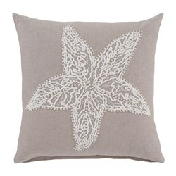 Ashley Anshel Throw Pillow Cover in Natural