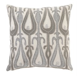 Ashley Arrowsic Throw Pillow Cover in Natural