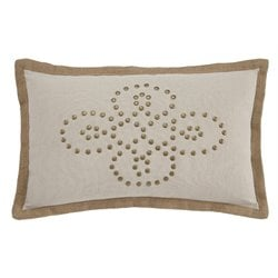 Ashley Castine Throw Pillow in Quartz