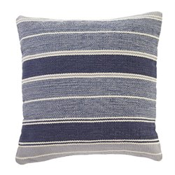 Ashley Biddleferd Throw Pillow Cover in Denim