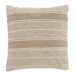 Ashley Biddleferd Throw Pillow Cover in Beige