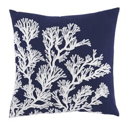 Ashley Aguirre Throw Pillow Cover in Navy