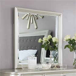Ashley Coralayne Vanity Mirror in Silver