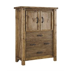 Ashley Tamilo 4 Drawer Chest in Grayish Brown