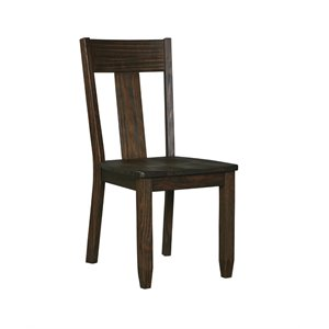 Ashley Trudell Dining Chair in Dark Brown