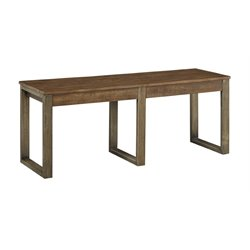 Ashley Dondie Bench in Warm Brown