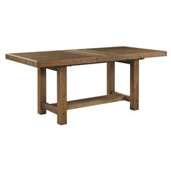 Ashley Tamilo Extendable Counter Height Dining Table in Grayish Brown