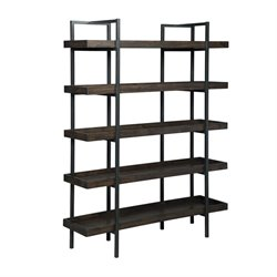 Ashley Starmore 5 Shelf Bookcase in Brown