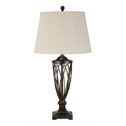 Ashley Makai Poly Table Lamp in Brown