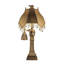 Ashley Dillian Poly Table Lamp in Bronze (Set of 2)