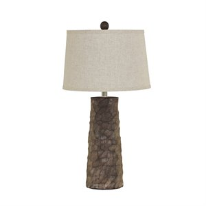 Ashley Sinda Poly Table Lamp in Gray (Set of 2)