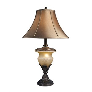 Ashley Danielle Poly Table Lamp in Bronze (Set of 2)