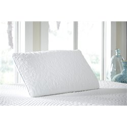 Ashley King Ventilated Pillow in White