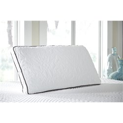 Ashley Dual Side King Pillow in White