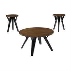 Ashley Ingel 3 Piece Coffee Table Set Brown