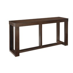 Ashley Watson Console Table in Dark Brown