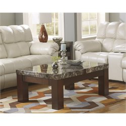 Ashley Kraleene Lift Top Coffee Table in Dark Brown