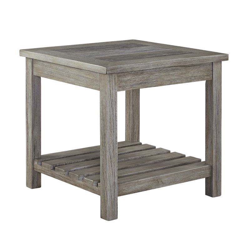 ashley veldar square end table in whitewash t748 2