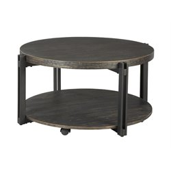 Ashley Winnieconi Round Coffee Table in Black