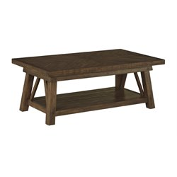 Ashley Dondie Coffee Table in Rustic Brown