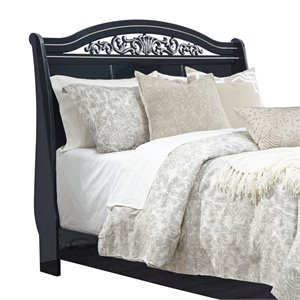 Ashley Constellations Queen Sleigh Headboard in Black