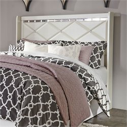 Ashley Dreamur Queen Panel Headboard in Champagne