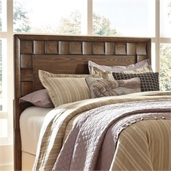 Ashley Debeaux Queen Panel Headboard in Medium Brown