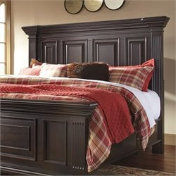 Ashley Willenburg Panel Headboard in Dark Brown