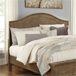 Ashley Trishley Queen Panel Headboard in Light Brown