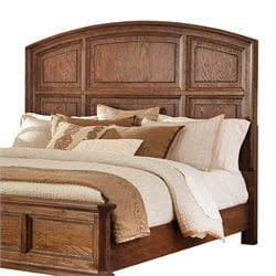 Ashley Maeleen Panel Headboard in Medium Brown