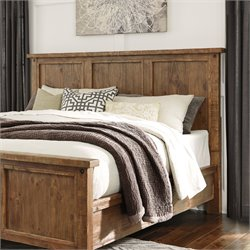 Ashley Tamilo King California King Panel Headboard in Grayish Brown