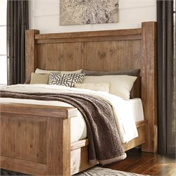 Ashley Tamilo Poster Headboard in Grayish Brown