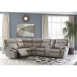 Ashley Demarion 2 Piece Sectional in Smoke