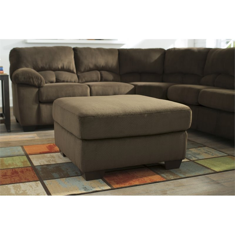 Ashley Dailey 2 Piece Sectional In Chocolate 95403 55 56 Kit