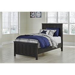 Ashley Jaysom Twin Panel Bed in Black