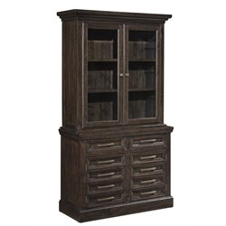 Ashley Townser China Cabinet in Grayish Brown