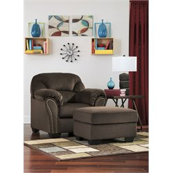 Ashley Kinlock Accent Chair with Ottoman