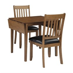 Ashley Joveen 3 Piece Dining Set in Light Brown