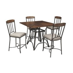Ashley Zanilly 5 Piece Dining Set